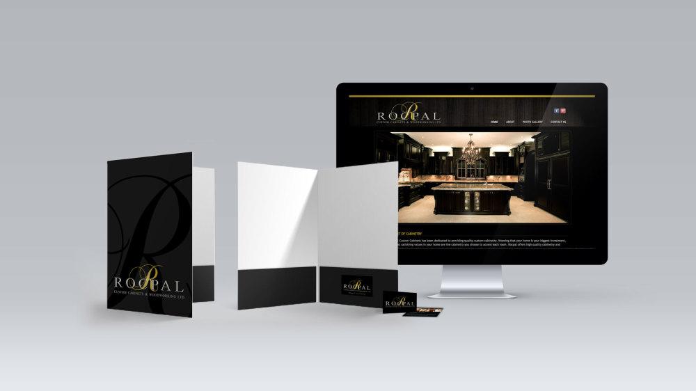 print, web design & branding