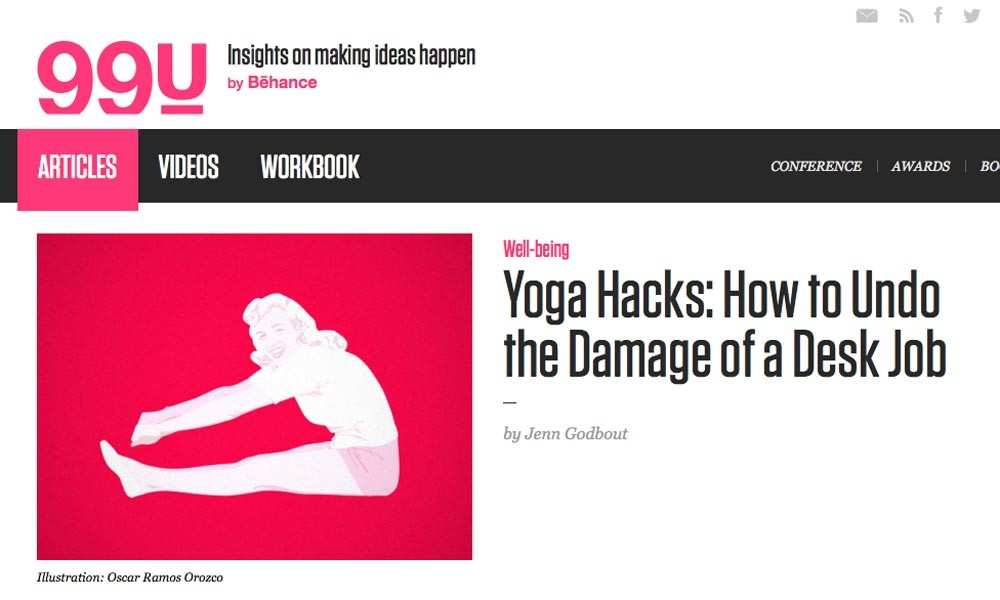 Yoga Hacks: How to Undo the Damage of a Desk Job